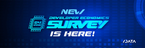 developer economics survey, developer economics q4 2018, developer economics 16 edition, developer survey, software developers survey