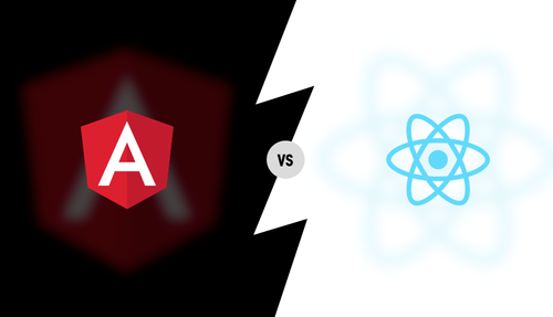 angular react