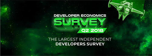 Developer Economics survey Q2 2018 prize draw winners